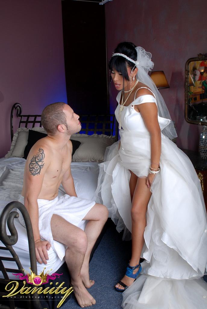 Getting fucked in wedding dress Horny Bride Vaniity Getting Fucked In A Wedding Dress Shemaletubevideos