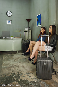 Airport Security Waiting room