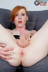 Wonderful Redhead Tranny With A Juicy Dick
