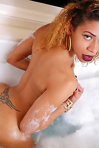 Sexy Natalia is a hot black tgirl with a nice well toned body, big juicy ass, small natural tits and