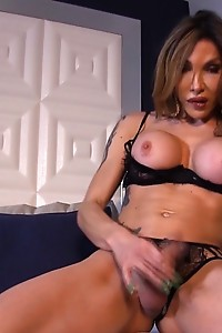 Yank your Cock Off while Eva Tease n' Please You