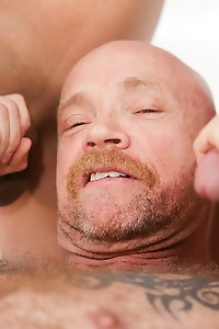 Iconic FTM trans star Buck Angel gets it on with two gorgeous TS babes, blonde Aubrey Kate and brune