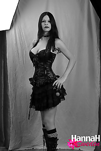 If you like Goth Trannies you will love these photos of TS Hannah Sweden