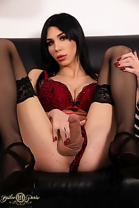 Hot Brunette Loves Masturbation & Toy In Ass