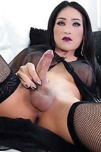 Helen C showing her bigcock