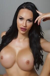 Kimberlee Pumps Her Long Hard Dick 'til Hot Cum