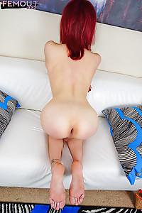 Hot Redhead Patrice Hepburn Big Cock Out