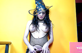 Keira Verga for Halloween