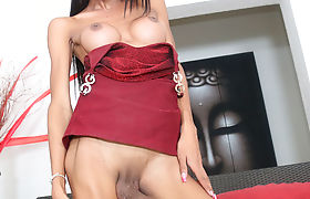 Horny Busty TBabe Paula Long loves banging dudes ass