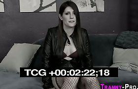 Tgirl hooker jizz faced