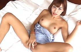 Ladyboy with a cute lingerie gets the D bareback style