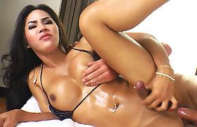 Amazing shemale anal fuck