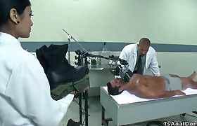 Shemale nurse anal fuck black doctor