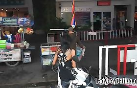03 Pattaya Ladyboy Soi 8 Thailand