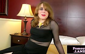 Solo femboi masturbating in bed