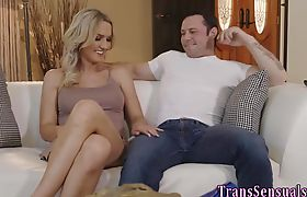 Ts babes ass eaten out and fucked