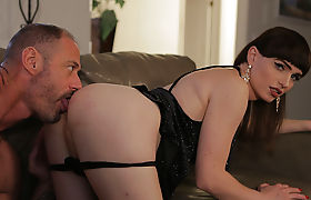 Kinky Tgirl Natalie gets ass pounded hard by her new partner
