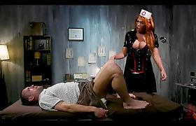 Cruel Tranny Nurse Dominates Patient
