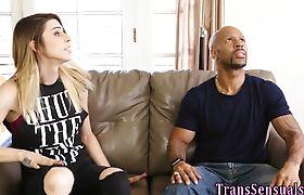 Erotic trans babe raw rides bbc