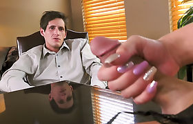 Painful Anal In The Office