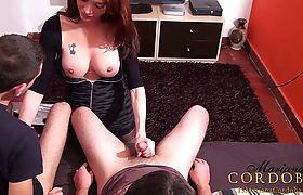 Mariana Cordobas threesome