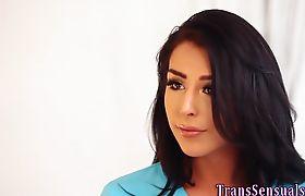 Trans babes ass fingered