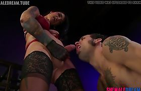 Tranny Chelsea Marie Dominates and Fucks A Guys Ass - See Full Video a