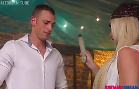 TS Fortune Teller Aubrey Kate Forsees Her Cock in Your Ass - See Full