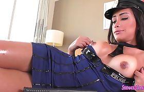 Alex Victor and Juliana Noguera in shemale porn