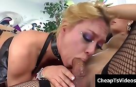 Shemale A MILF In Her Ass