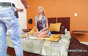 Teen tranny got her ass fucked