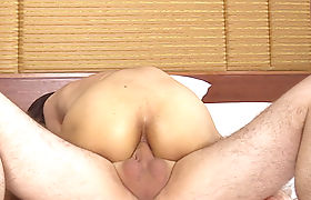 Big cock shemale seduced horny client with big cock