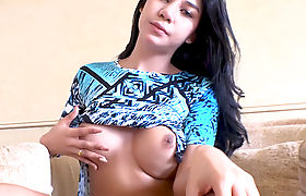 Big tits Asian ladyboy gives head and fucked in asshole
