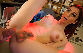 Tgirl Korra have anal with her hunk guard with a big cock