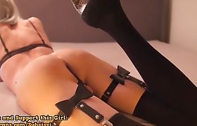 Tranny Pleasures Herself By Jacking