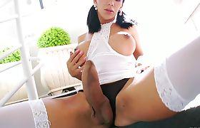 Brazilian Shemale - Sabrina Suzuki Solo 01
