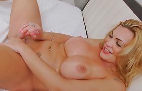 Trans Girl Julie Berdu Enjoys Some Solo Fun