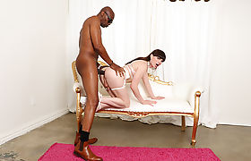 Tbabe Natalie Mars super hot interracial anal scene