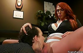 Huge fake tits shemale anal bangs attorney