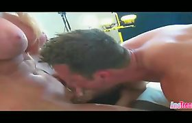 Ana Mancini gets her ass fucked