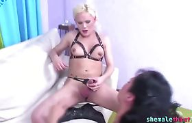 Babes Getting Laid Over Beautiful Tranny Cock