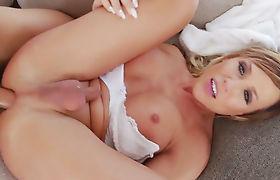 Naked guy bangs busty Tbabe Nikki Jades asshole