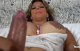 Busty trans Naomi Chi