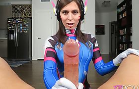 Korra Del Rio Cosplay Sex As D..VA