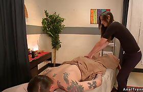 Shemale masseuse anal bangs dude cowboy