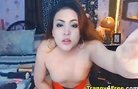 Horny Shemale Fuck her Tight Ass