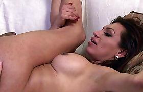 Curvy hot ts Jessy Dubai and hunk Roman Todd anal fucked in doggystyle