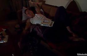 Sarina takes Parker to a secret dungeon, fucks him_01