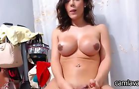 was and with big boobs brunette shemale ass fucked in laundry area manage somehow