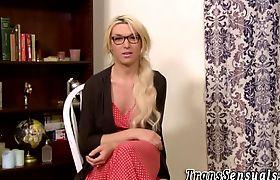 Inked transgender nailed